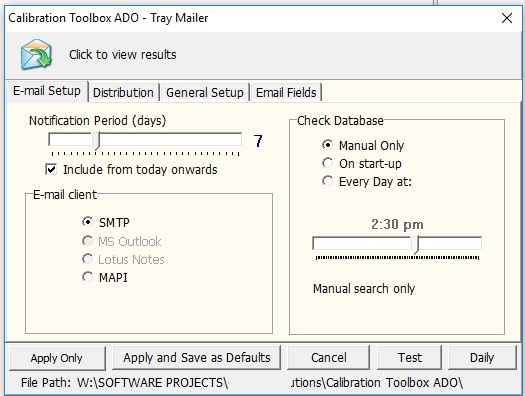 free downloadable software for pipette calibration
